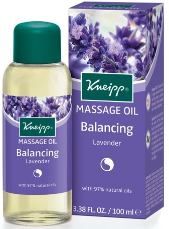 Lavender Herbal Massage Oil Kneipp 3.4oz