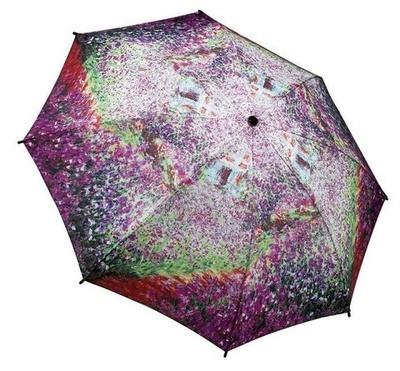 Monet's Garden Folding Umbrella