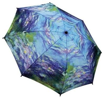 Monet's Water Lilies Folding Umbrella