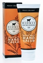 Peach Delight Hand Cream Dionis