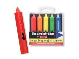 Write-A-Mat Write On/Wipe Off Crayons