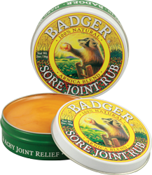 Sore Joint Rub Badger 2 oz