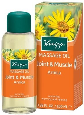 Arnica Joint & Muscle Massage Oil 3.4 oz Kneipp