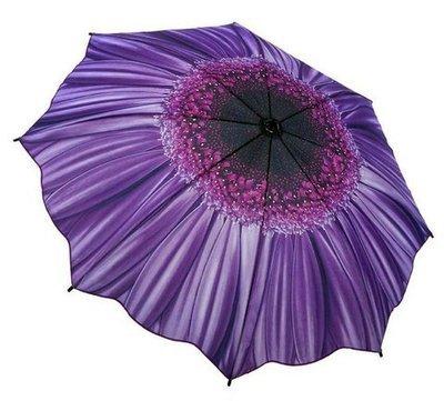 Wisteria Daisy Folding Umbrella