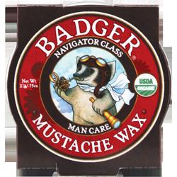 Badger Man Care Mustache Wax