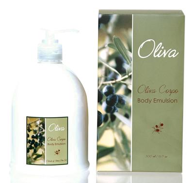 Oliva Body Emulsion Moisturizer 16.9 oz
