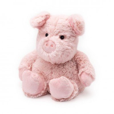 Warmies Cozy Plush Pig