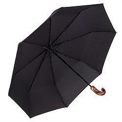 Men's Black Folding Umbrella