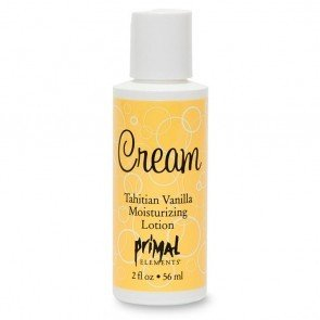 Primal Elements Tahitian Vanilla Lotion 2 oz. Bottle