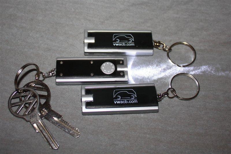 Nøkkelringer med lys