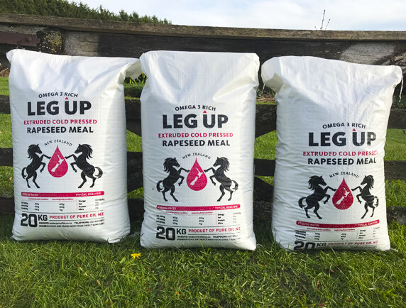 Leg Up Extruded Rapeseed Meal