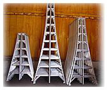 6' Aluminum Step Orchard Ladder