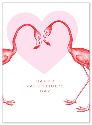 Valentines Flamingos VALFLA
