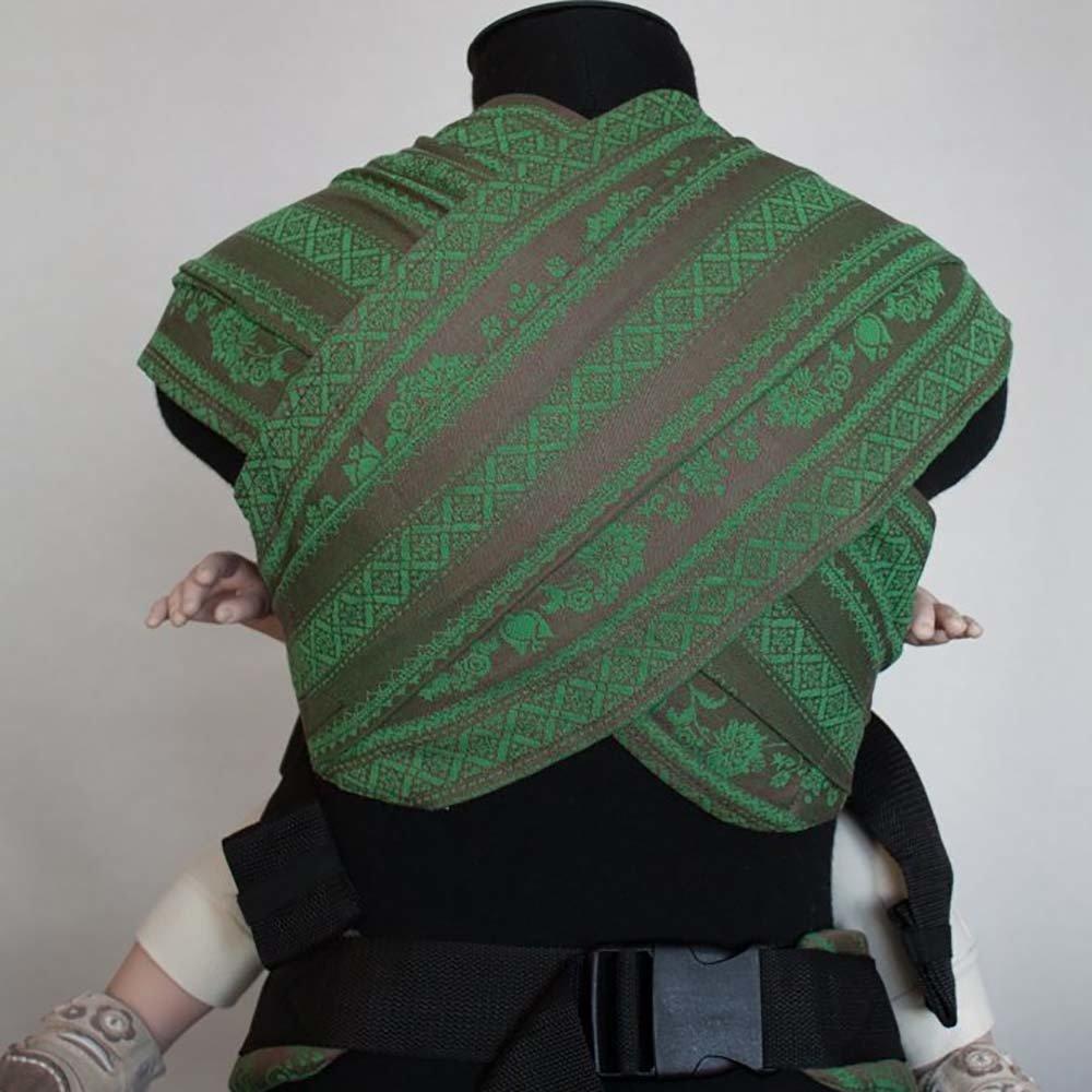 Эрго рюкзак Karaush Adel Forest (чер) с гибридными лямками