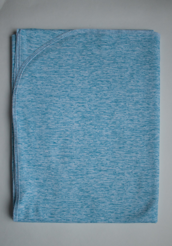 пеленка трикотажная 90х120 Голубой меланж