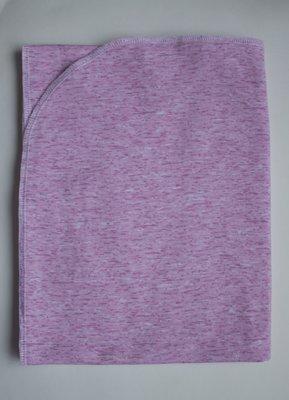 пеленка трикотажная 90х120 Розовый меланж