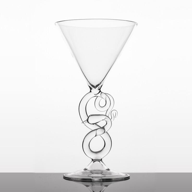 Martini Glass - Serpentine Collection
