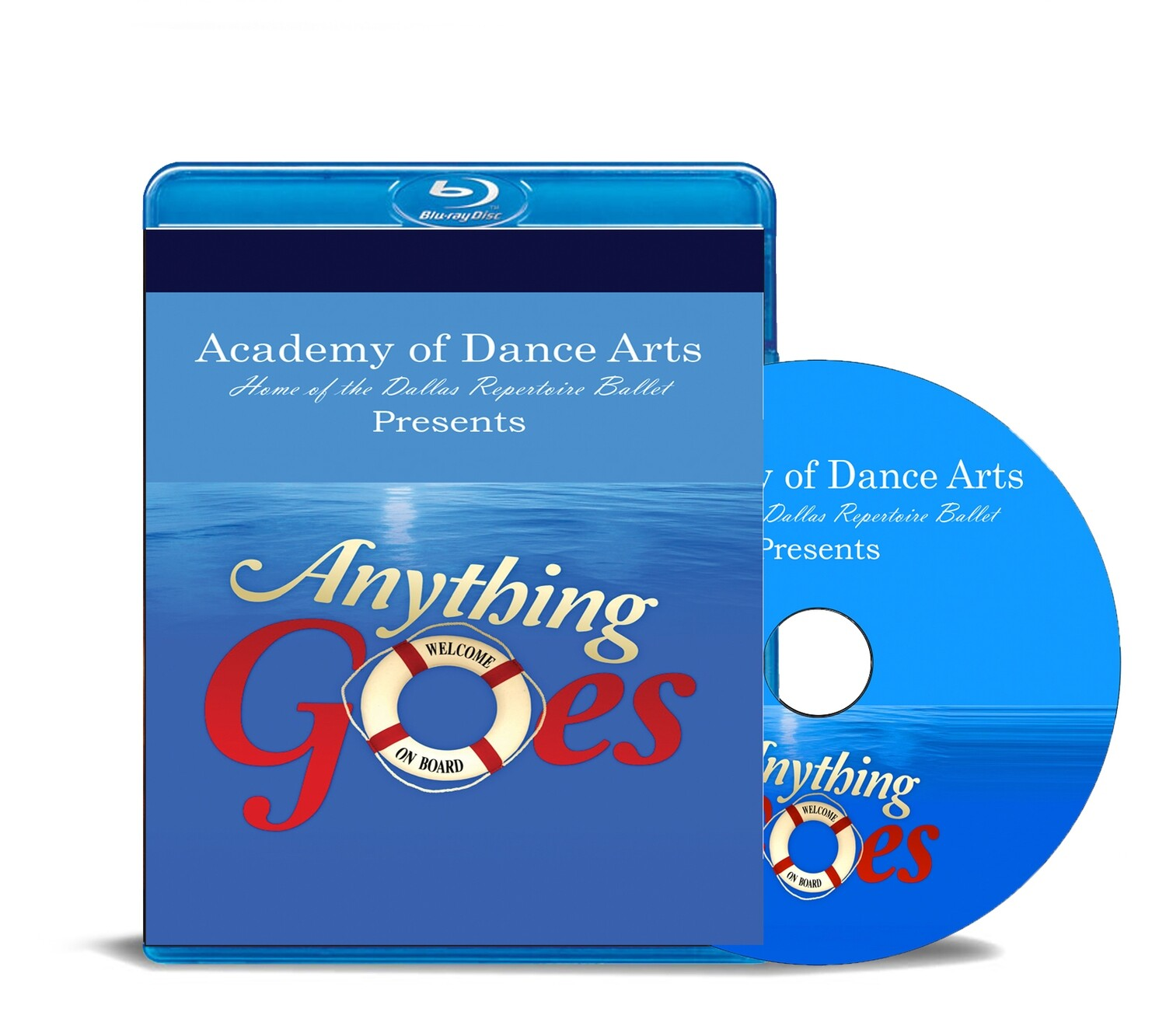 Anything Goes 2019 Blu-ray