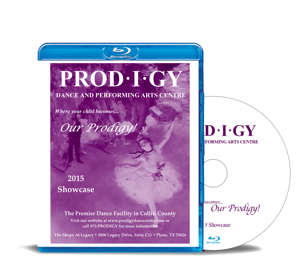 Prodigy 2015 - 2 Performances - Blu-ray