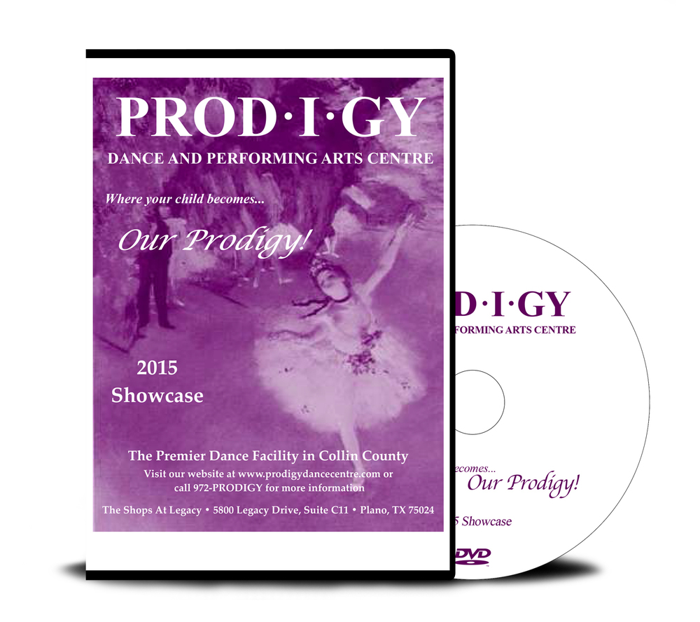 Prodigy 2015 - 3 Performances - DVD