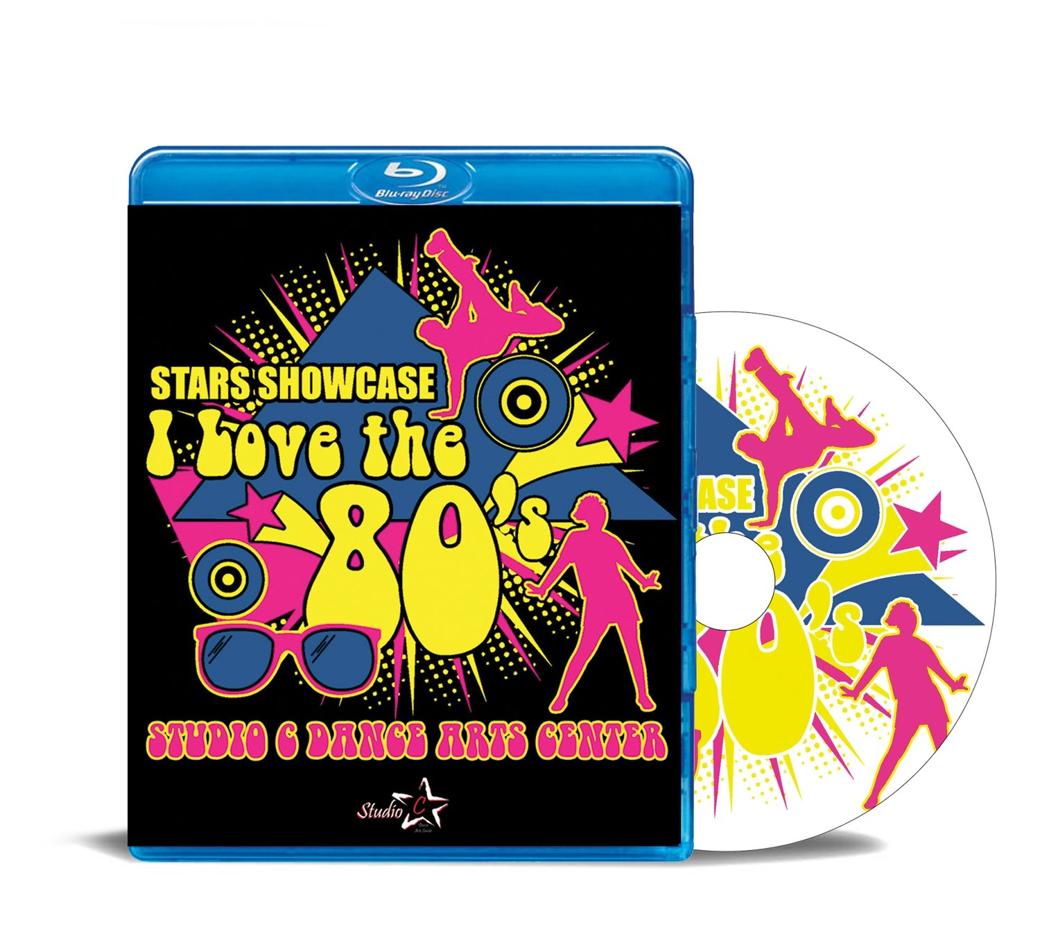 Stars Showcase I Love the 80's Blu-ray 2017