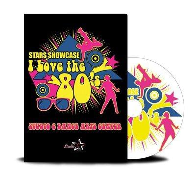 Stars Showcase I Love the 80's DVD 2017