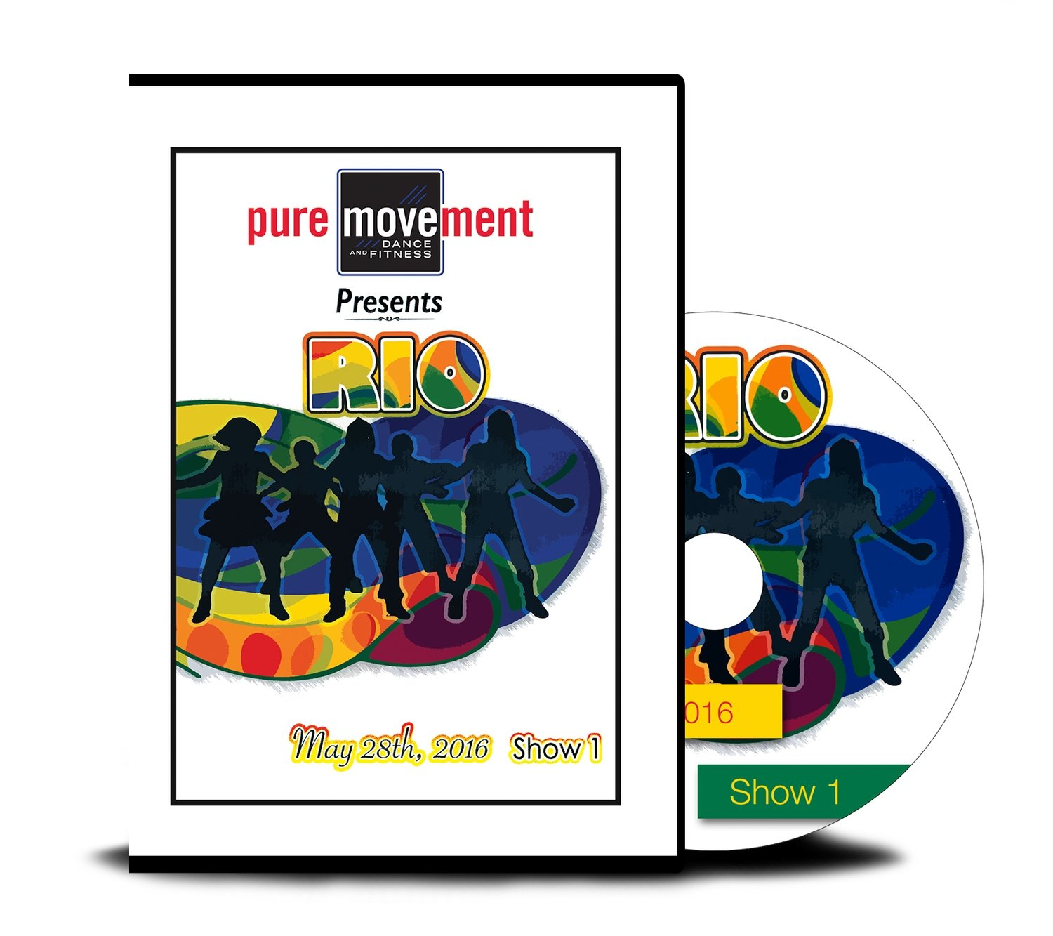 Pure Movement RIO SHOW I DVD