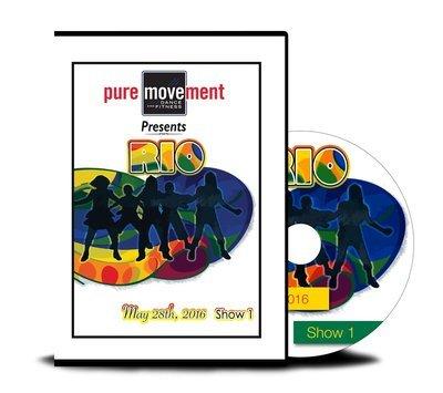 Pure Movement RIO SHOW I DVD