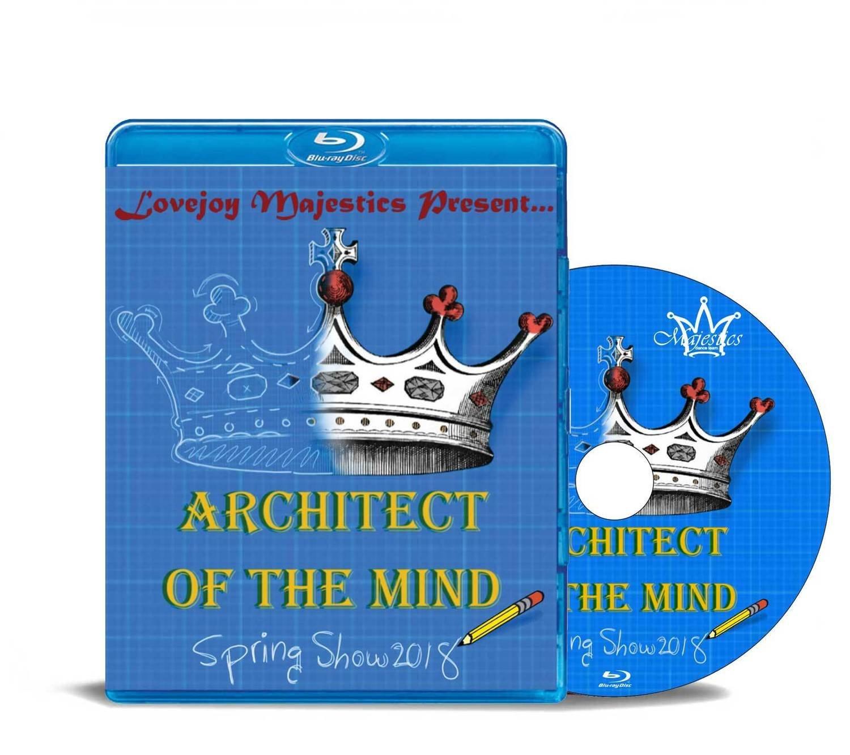 Lovejoy Majestics 2018- Architect Of The Mind - Blu-ray
