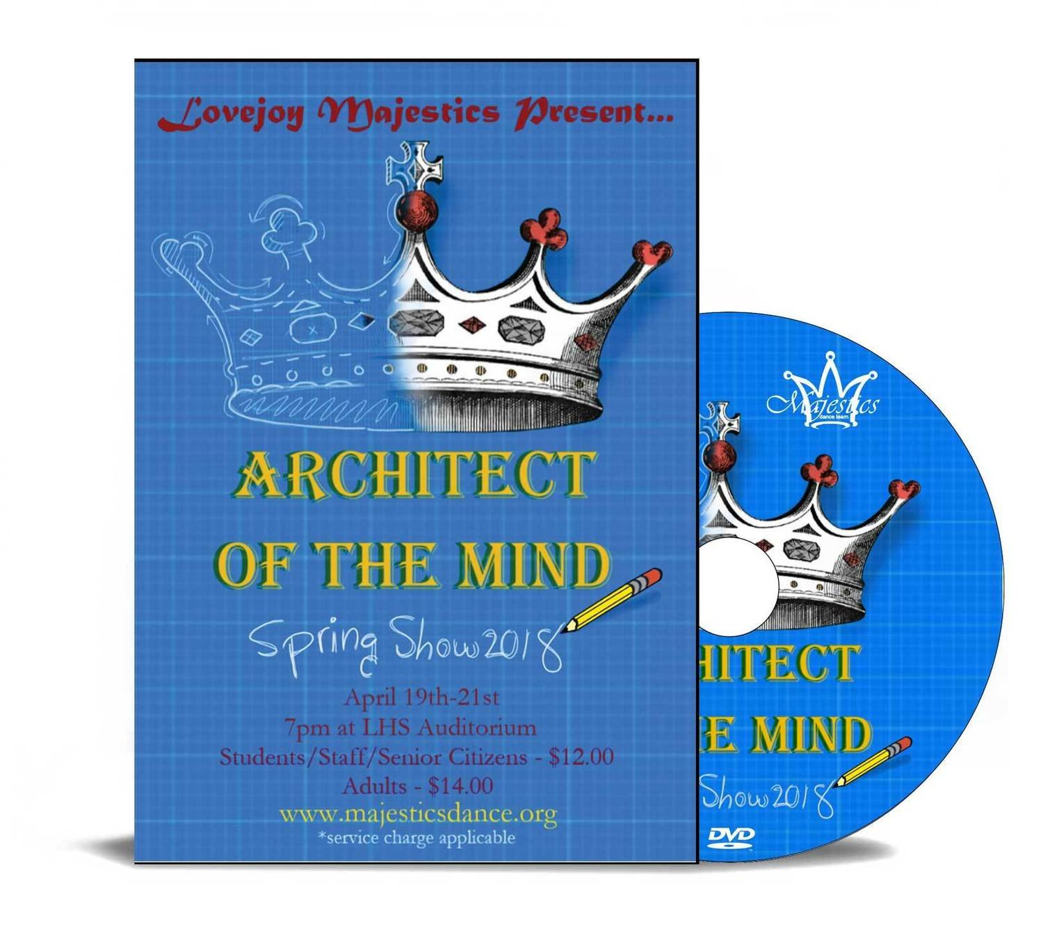 Lovejoy Majestics 2018- Architect Of The Mind - DVD
