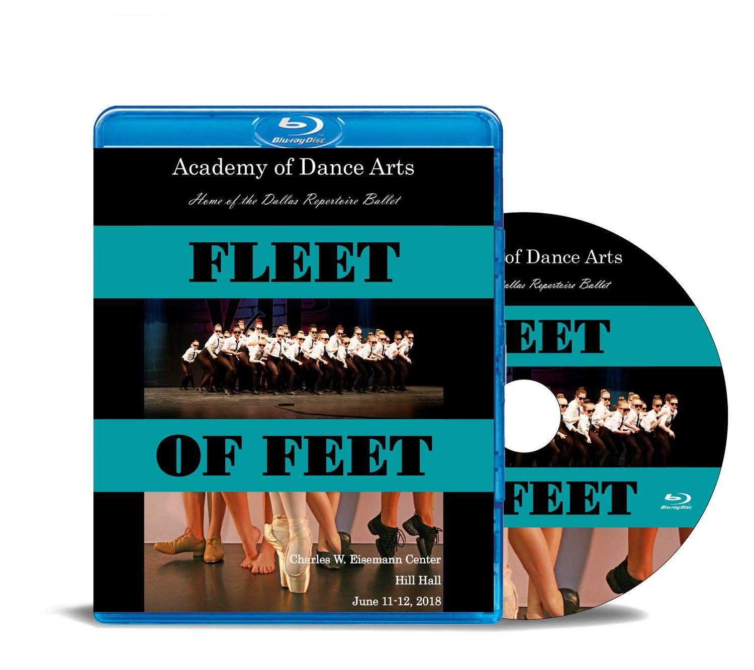 Fleet of Feet 2018 Blu-ray