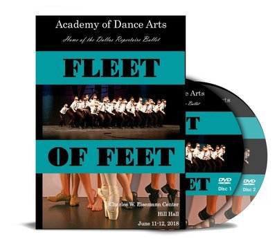 Fleet of Feet 2018 DVD