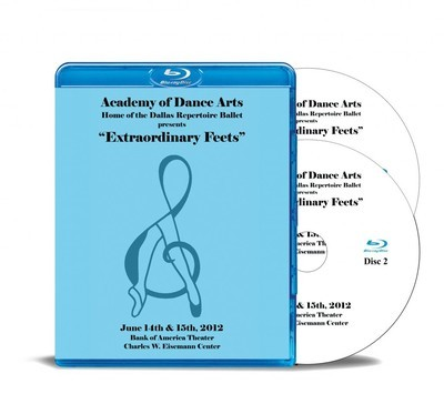 Extraordinary Feets 2012 Blu-ray