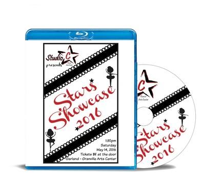 Stars Showcase Blu-ray 2016