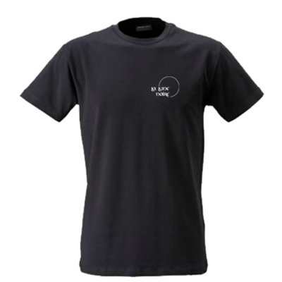 T-Shirt Black (small logo)