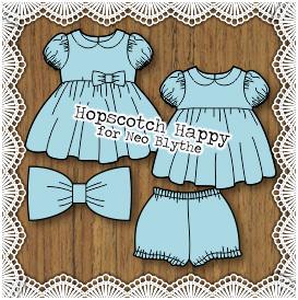 Hopscotch Happy for Neo/Kenner Blythe dolls