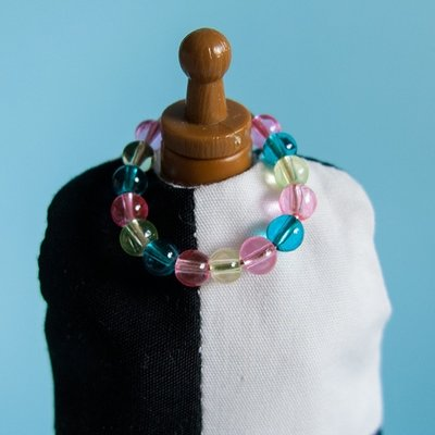 Ring Necklace: Tricolor