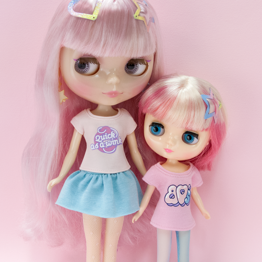 T-shirt for Neo Blythe: 80's