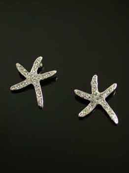FASHION JEWELRY-STARFISH EARRINGS E3945