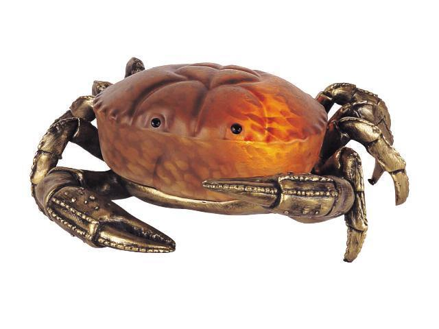 ACCENT LAMP-AMBER CRAB SS1459