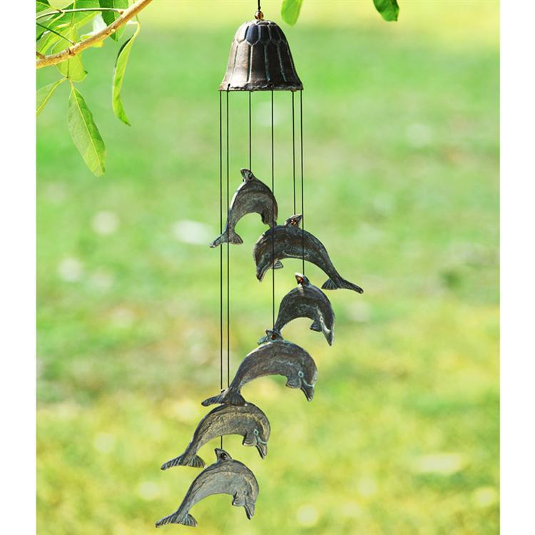 WINDCHIME-DIVING DOLPHINS SP50834