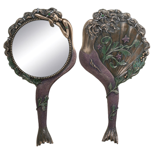 HAND MIRROR-MERMAID NOUVEAU YTC7670