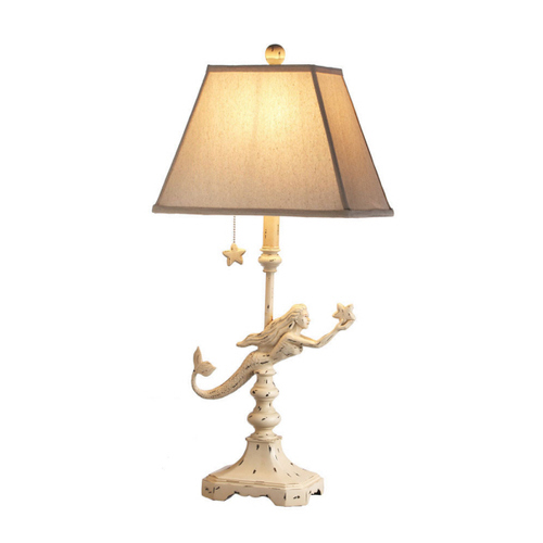 TABLE LAMP-SHABBY CHIC MERMAID MW238493
