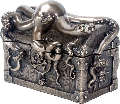 TREASURE KEEPER-OCTOPIED PIRATE CHEST YTC9070