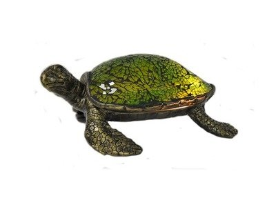 ACCENT LAMP- GREEN SEA TURTLE