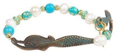 MERMAID FOUND BRACELET-PATINA