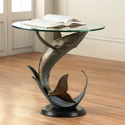 DESIGNER TABLE-HUMPBACK WHALE