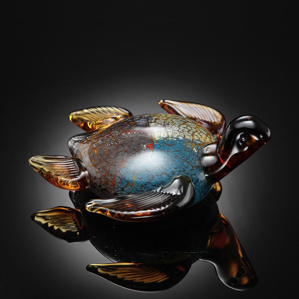 ART GLASS-SEATURTLE
