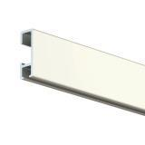 2m Click Rail White including standard fixings