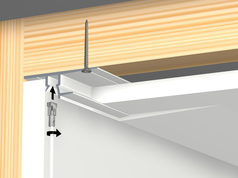 2.5m Shadow Line Gib Board white